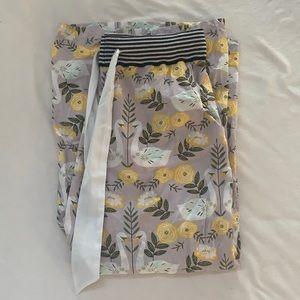 Lisa Todd Wide Leg Cotton Pants